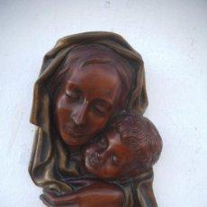 Arte: ESCULTURA DE PARED RELIGIOSA. Lote 35636048