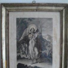 Arte: SAN RAFAEL ARCANGEL - JOSE MARIA MARTIN - SEVILLA 1833 - GRABADO. OBRA INEDITA. Lote 35784317