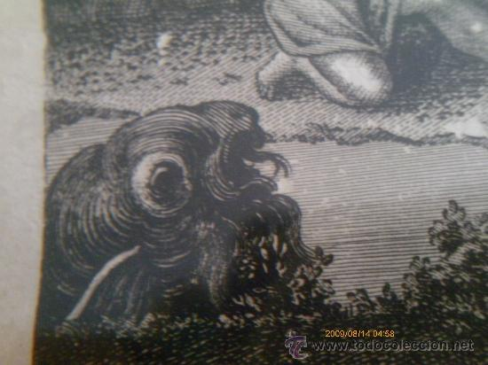 Arte: SAN RAFAEL ARCANGEL - JOSE MARIA MARTIN - SEVILLA 1833 - GRABADO. OBRA INEDITA - Foto 4 - 35784317