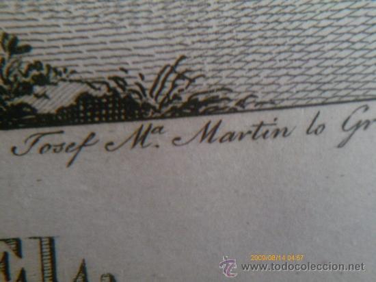 Arte: SAN RAFAEL ARCANGEL - JOSE MARIA MARTIN - SEVILLA 1833 - GRABADO. OBRA INEDITA - Foto 6 - 35784317