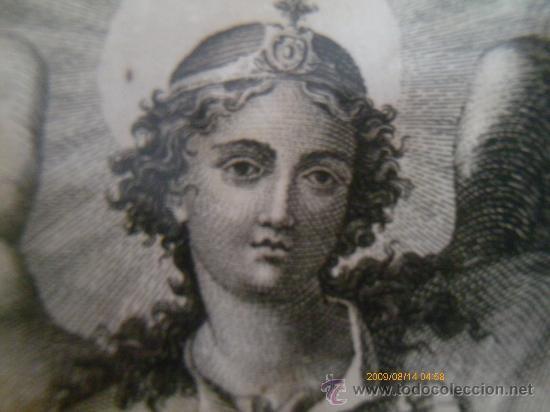 Arte: SAN RAFAEL ARCANGEL - JOSE MARIA MARTIN - SEVILLA 1833 - GRABADO. OBRA INEDITA - Foto 8 - 35784317