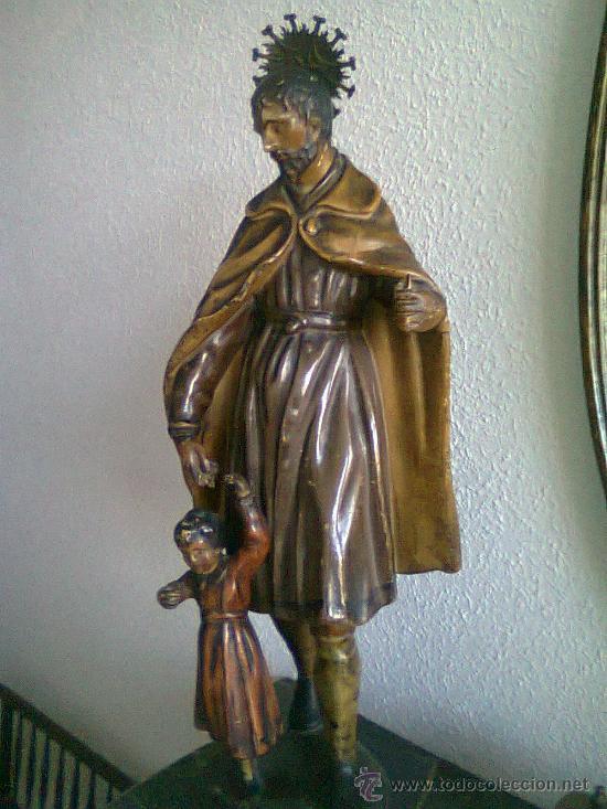 SAN JOSÉ Y EL NIÑO (Arte - Arte Religioso - Escultura)