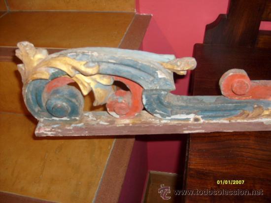 Arte: pareja laterales retablo - Foto 6 - 27227838