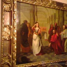 Arte: OLEO/COBRE,ESCUELA FLAMENCA DEL SIGLO XVII.. Lote 36488440