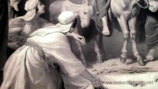 Arte: IMPORTANTE GRABADO. ENTRA JESUS EN TRIUNFO EN JERUSALEN L. Turgis et fils (Paris) - Foto 8 - 36815558