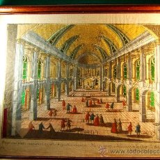 Arte: CHAPELLE ROYALE DE VERSAILLES - ENMARCADO, CAJA VIDRIO,ENCHUFE - 45X30X9 CM - SIGLO XVIII - UNICO. . Lote 36870831