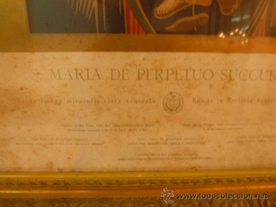 Arte: lamina santa maria de perpetuo socorro - Foto 13 - 37007408