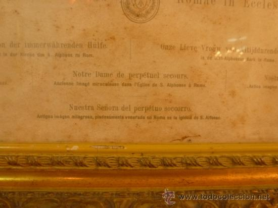 Arte: lamina santa maria de perpetuo socorro - Foto 12 - 37007408