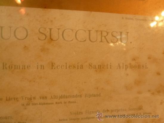 Arte: lamina santa maria de perpetuo socorro - Foto 11 - 37007408