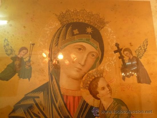 Arte: lamina santa maria de perpetuo socorro - Foto 2 - 37007408