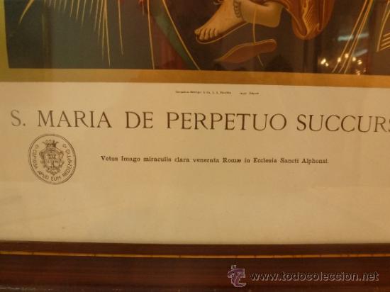 Arte: lamina santa maria de perpetuo socorro - Foto 11 - 37007298
