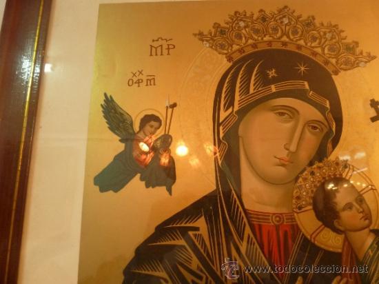 Arte: lamina santa maria de perpetuo socorro - Foto 9 - 37007298