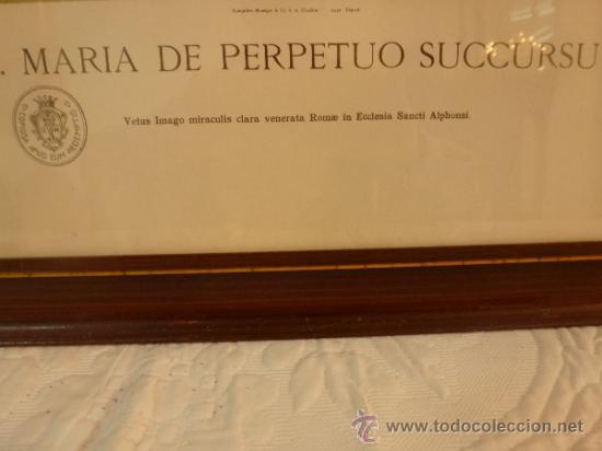 Arte: lamina santa maria de perpetuo socorro - Foto 5 - 37007298