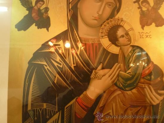Arte: lamina santa maria de perpetuo socorro - Foto 3 - 37007298