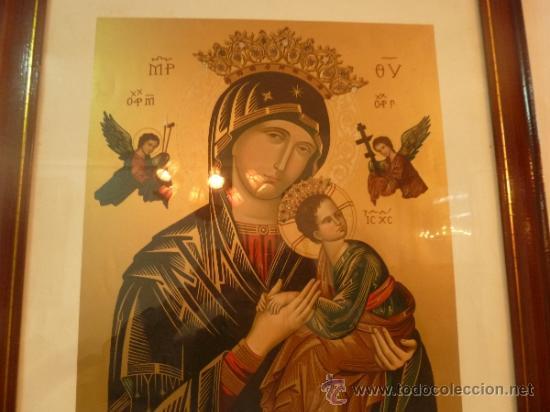 Arte: lamina santa maria de perpetuo socorro - Foto 2 - 37007298