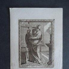 Arte: GRABADO PARIS.SIGLO XVIII. 23X17CM. 'S. HELEINE' . Lote 37024368