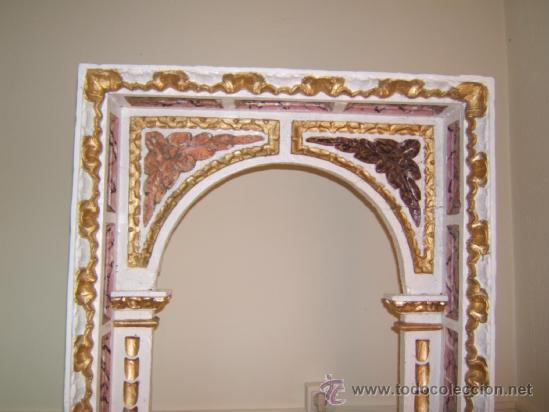 Arte: parte central capilla retablo barroco - Foto 2 - 37351751