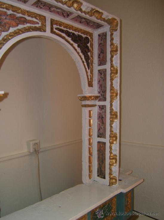 Arte: parte central capilla retablo barroco - Foto 3 - 37351751