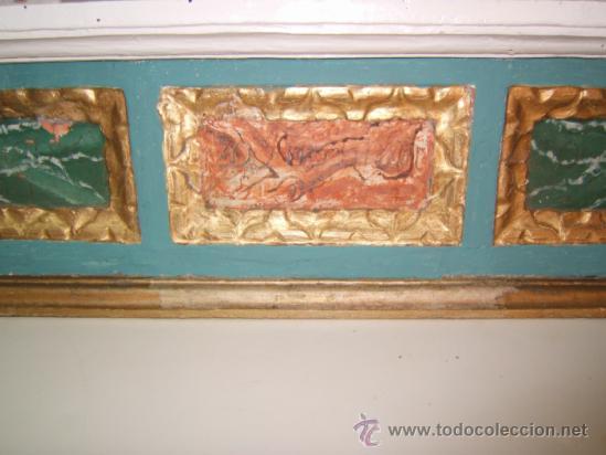 Arte: parte central capilla retablo barroco - Foto 4 - 37351751