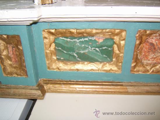 Arte: parte central capilla retablo barroco - Foto 5 - 37351751