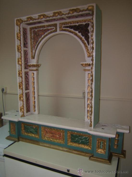 Arte: parte central capilla retablo barroco - Foto 6 - 37351751