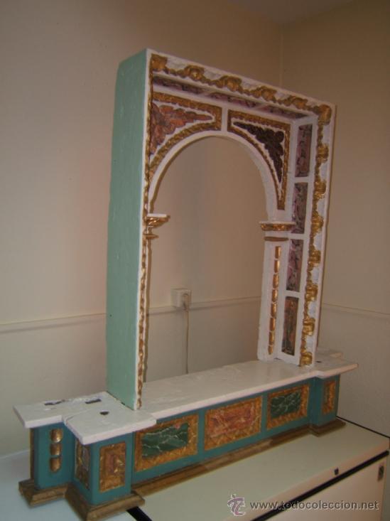 Arte: parte central capilla retablo barroco - Foto 8 - 37351751