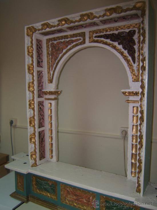 Arte: parte central capilla retablo barroco - Foto 9 - 37351751