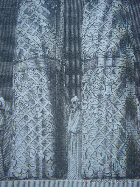 Arte: GRABADO RELIGIOSO, REY JOSÍAS, BELL, LONDRES, 1834, DATADO EN PLANCHA, - Foto 18 - 37385219