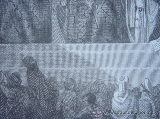 Arte: GRABADO RELIGIOSO, REY JOSÍAS, BELL, LONDRES, 1834, DATADO EN PLANCHA, - Foto 19 - 37385219