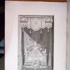 Arte: 1857 GRABADO DE GOUPIL-VIBERT Y CIA. ARQUITECTURA T ORFEBRERÍA 55,5X36. Lote 37480627
