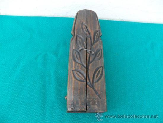 Arte: triptico de madera tallada - Foto 3 - 37653713