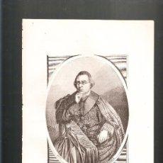 Arte: LITOGRAFÍA CARDENAL WISSEMAN PRIMER ARZOBISPO DE WESTMINSTER. Lote 38539047