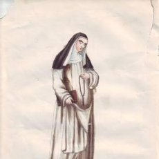 Arte: RELIGIOSA DE SANTO DOMINGO. RELIGIEUSE DOMINICAINE.. Lote 38814059