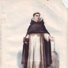 Arte: RELIGIOSO DE SANTO DOMINGO. DOMINICAIN.. Lote 38814091