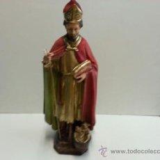 Arte: EXCELENTE SAN NICOLAS DE BARI ,MEDIDAS 41 CM . Lote 38963321