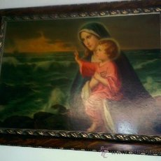 Arte: MAGNIFICO CUADRO RELIGIOSO DE LOS AÑOS 60. Lote 41073423