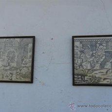 Arte: PAREJA DE GRABADOS. Lote 39023553