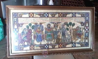 Arte: antigua pintura religiosa, cristiana etíope. AUTOR G.K.S. - Foto 2 - 39043815