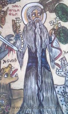 Arte: antigua pintura religiosa, cristiana etíope. AUTOR G.K.S. - Foto 8 - 39043815