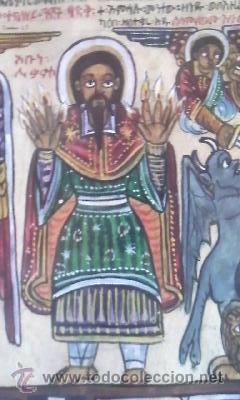 Arte: antigua pintura religiosa, cristiana etíope. AUTOR G.K.S. - Foto 9 - 39043815