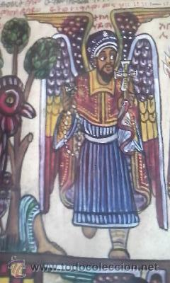 Arte: antigua pintura religiosa, cristiana etíope. AUTOR G.K.S. - Foto 10 - 39043815