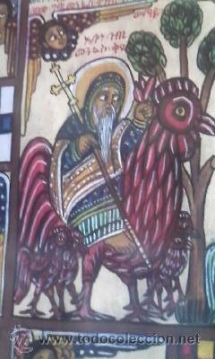 Arte: antigua pintura religiosa, cristiana etíope. AUTOR G.K.S. - Foto 11 - 39043815