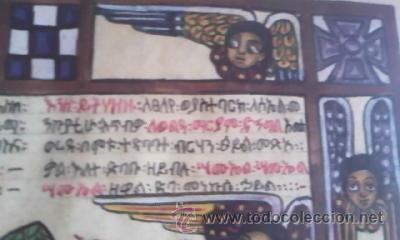 Arte: antigua pintura religiosa, cristiana etíope. AUTOR G.K.S. - Foto 12 - 39043815