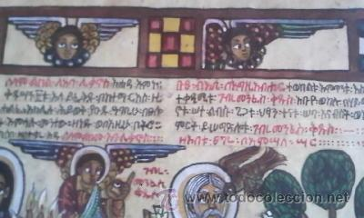 Arte: antigua pintura religiosa, cristiana etíope. AUTOR G.K.S. - Foto 13 - 39043815