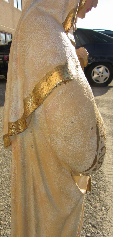 Arte: Virgen Carmen marmolina maciza 96 cm. alto - Foto 7 - 39403194