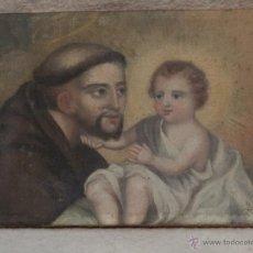 Arte: PINTURA SAN ANTONIO Y EL NIÑO. Lote 39485811