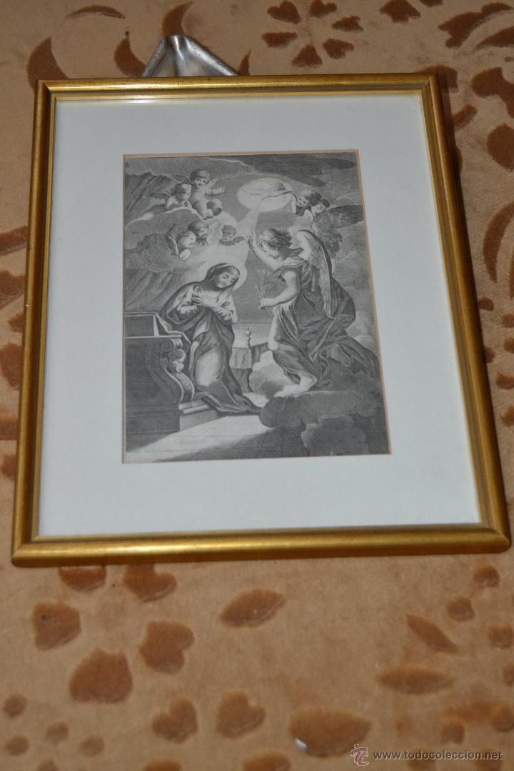 GRABADO DE LA ANUNCIACIÓN DE MARIA (Arte - Arte Religioso - Grabados)