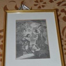 Arte: GRABADO DE LA ANUNCIACIÓN DE MARIA. Lote 39528820
