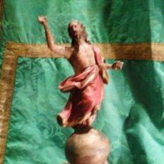 Arte: CRISTO RESUCITADO TALLA EN MADERA. Lote 39693652