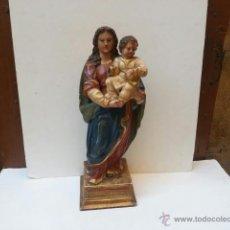 Arte: EXCELENTE VIRGEN DE TALLA SIGLO XVIII. Lote 39843294